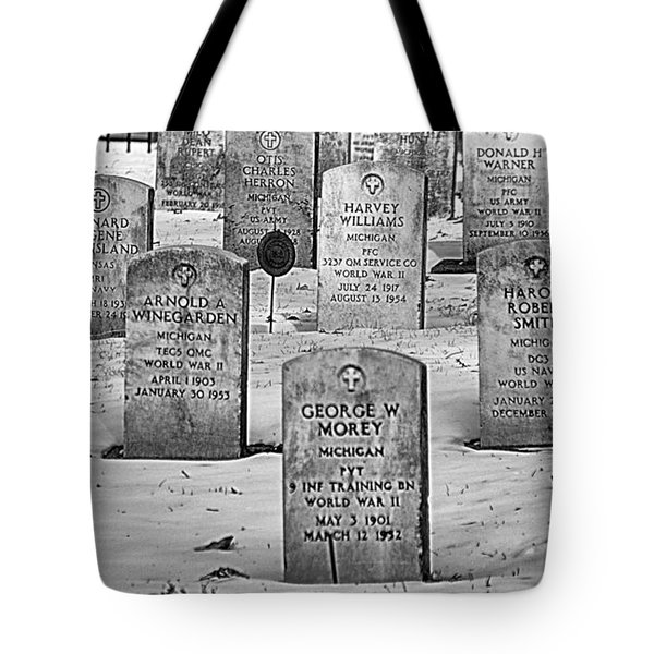 Tote Bag featuring the photograph Wwii Soldiers  by JRP Photography
