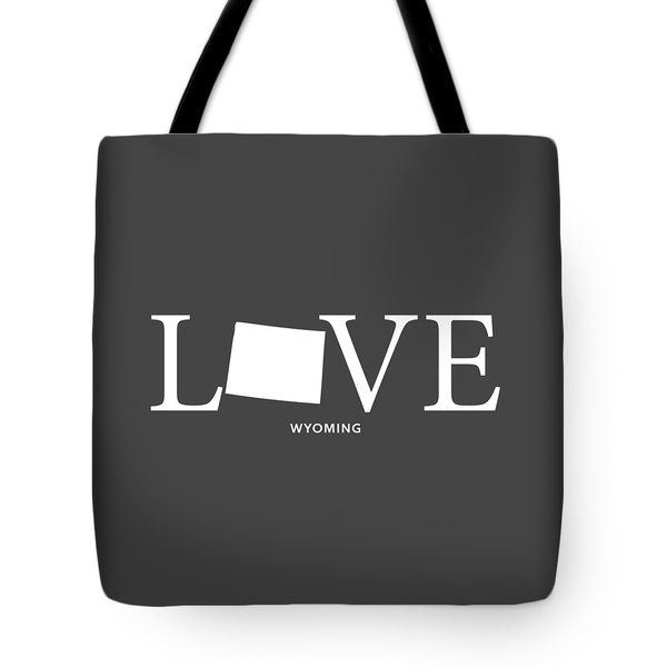 Wy Love Tote Bag