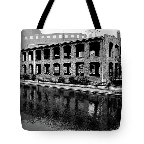 Tote Bag featuring the photograph Wyche Pavilion by Corinne Rhode