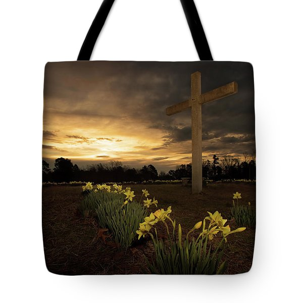 Wye Mountain Sunset Tote Bag