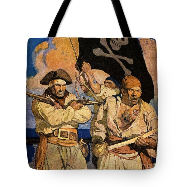 Tote Bag featuring the photograph Wyeth: Treasure Island by Granger