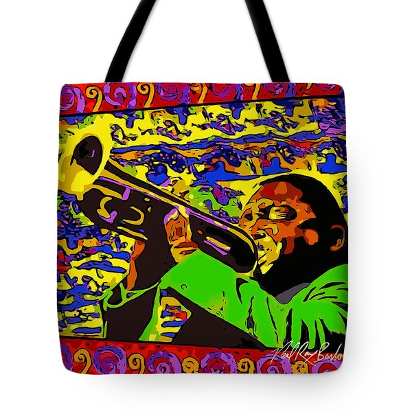 Wynton Marsalis Plays Louis Armstrong Rework Tote Bag