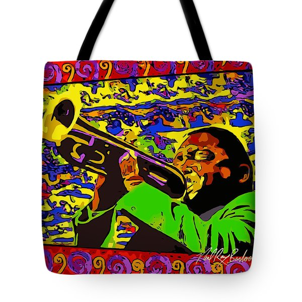 Wynton Marsalis Plays Louis Armstrong Rework Tote Bag