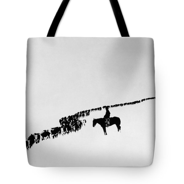 Wyoming: Cattle, C1920 Tote Bag