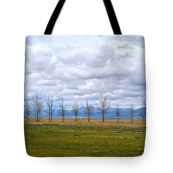 Wyoming-dwyer Junction Tote Bag