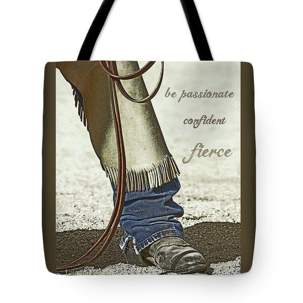 Wyoming Fierce Tote Bag