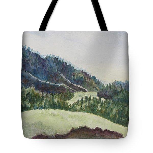 Wyoming Glow Tote Bag by Jenny Armitage