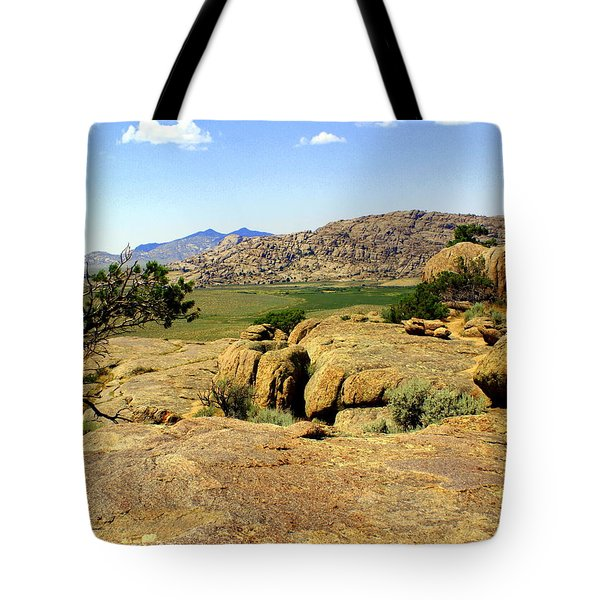Wyoming Landscape Tote Bag by Marty Koch