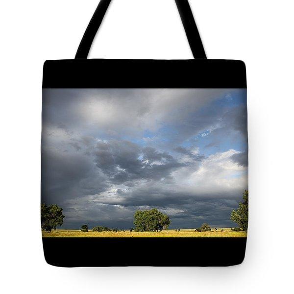 Wyoming Sky Tote Bag