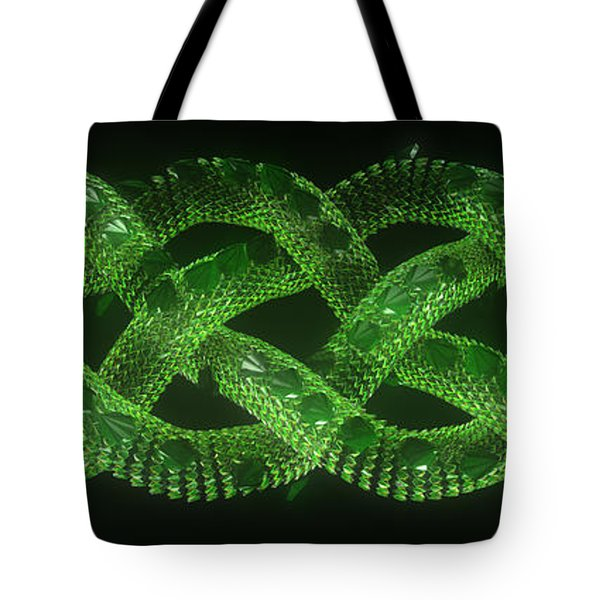 Wyrm - The Celtic Serpent Tote Bag