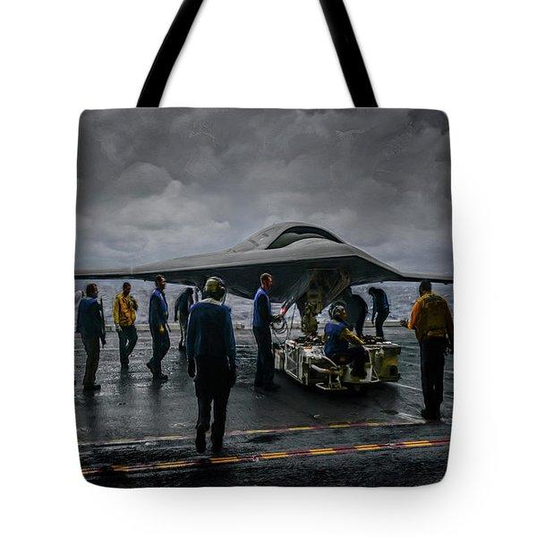 X-47b Uav  Tote Bag