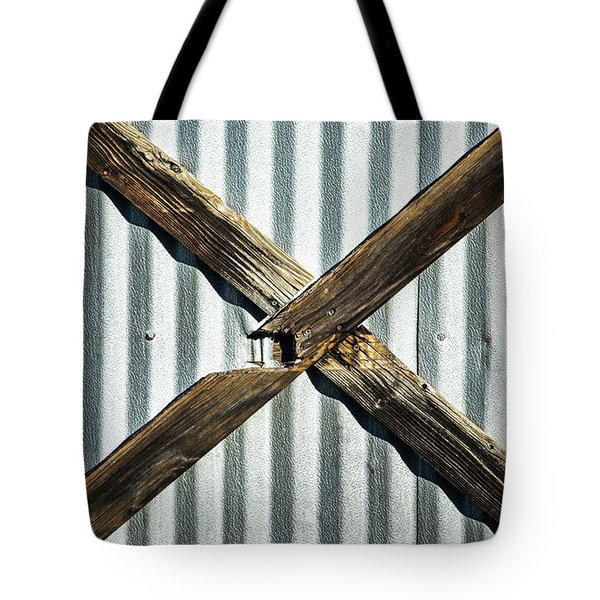 Tote Bag featuring the photograph X Marks The Spot by Karol Livote
