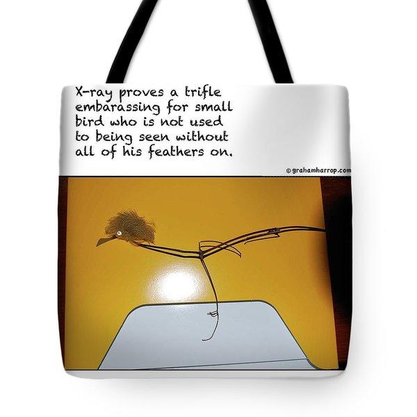 X-ray Bird Tote Bag