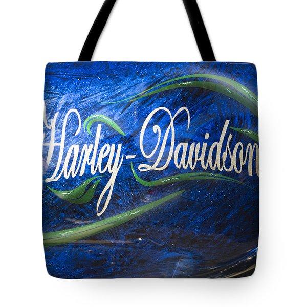 Harley Davidson 2 Tote Bag by Wendy Wilton