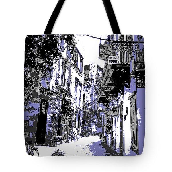 Xania Street Tote Bag