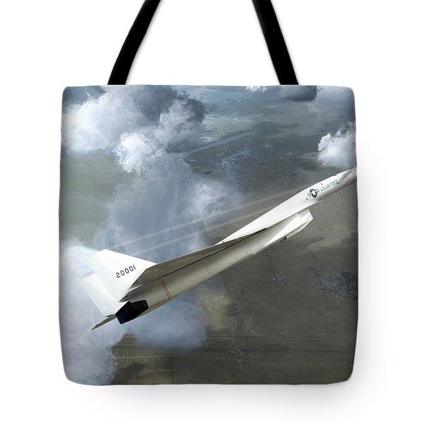 Xb-70 Test Flight Tote Bag