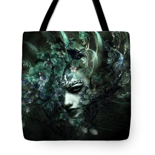 Blooms With Artistic Inclination Tote Bag