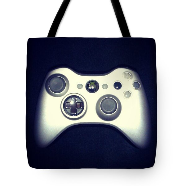 Silver Shot Tote Bag