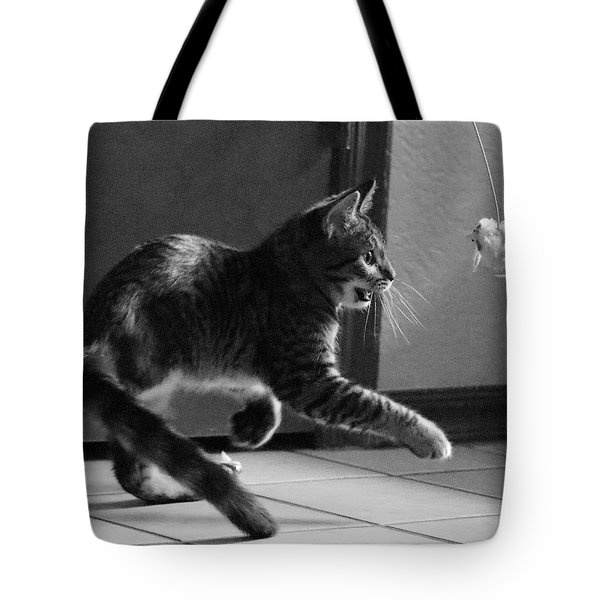 Xena Playing Tote Bag