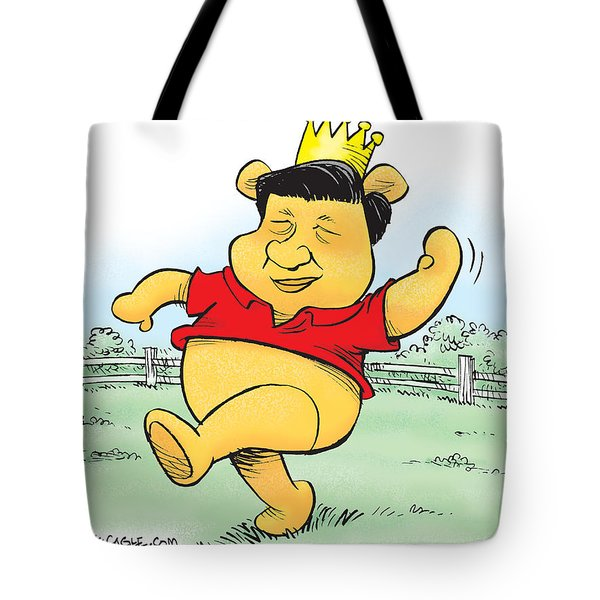 Xi The Pooh Tote Bag