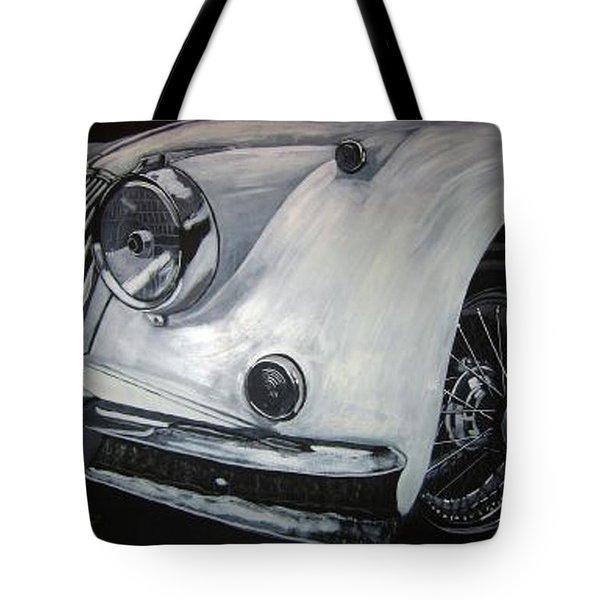Xk150 Jaguar Tote Bag