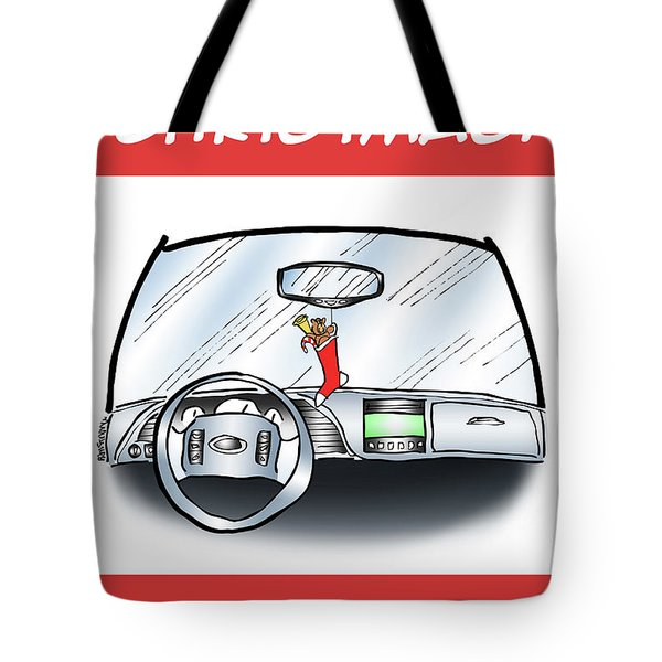 Tote Bag featuring the digital art Hang Up Stocking by Mark Armstrong