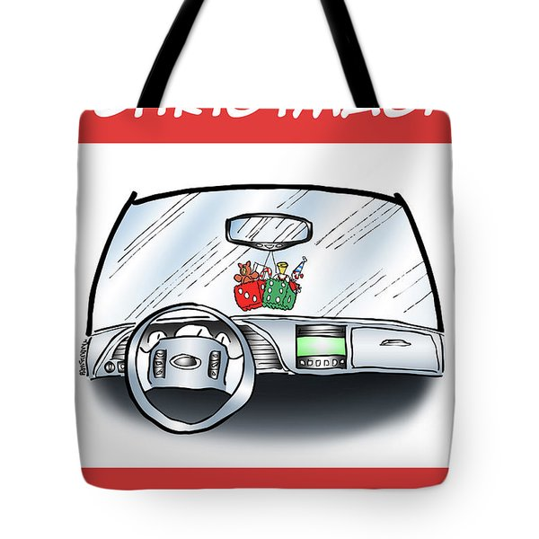 Tote Bag featuring the digital art Hang Up Dice by Mark Armstrong