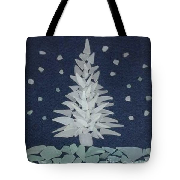 Xmas Tree Tote Bag by Stan Tenney