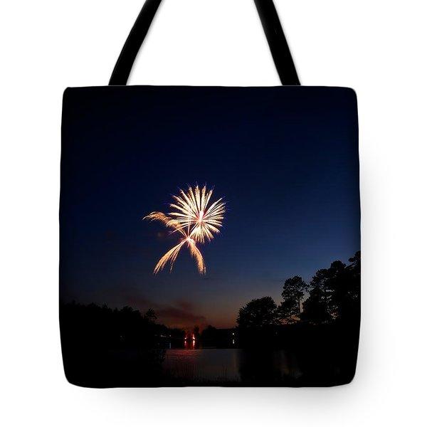 Xo Firework Tote Bag