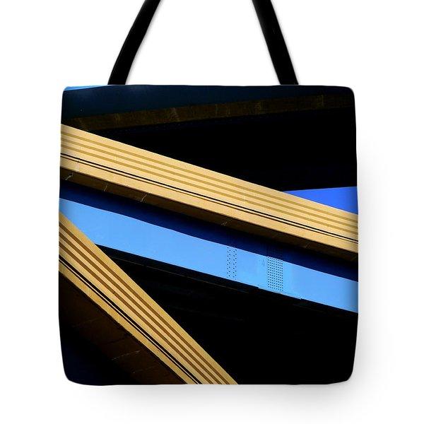 Kandinsky's Lines Tote Bag
