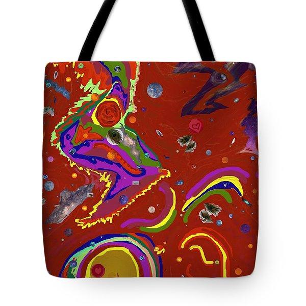 Xtine's Nebula 1 Tote Bag