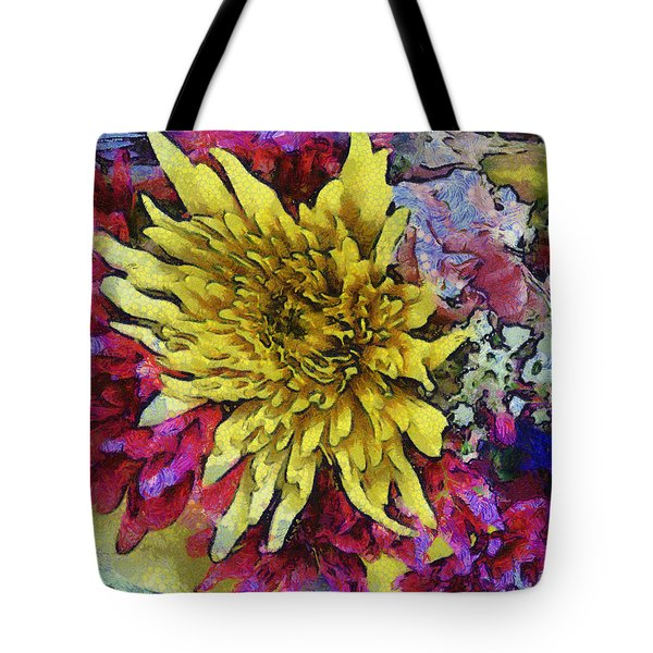 Xtreme Floral Thirteen Reaching Out Tote Bag