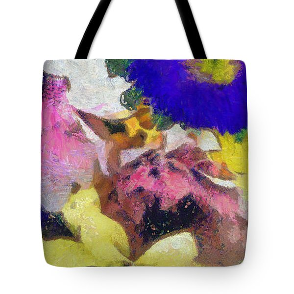 Xtreme Floral Sixteen Pink Power Tote Bag
