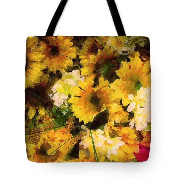 Hot Pink Hiding Xtreme Floral 21 Tote Bag
