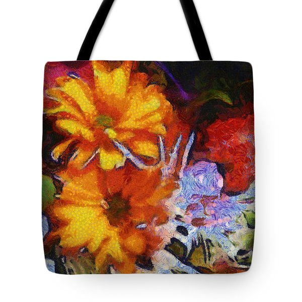 Xtreme Floral Two Tote Bag