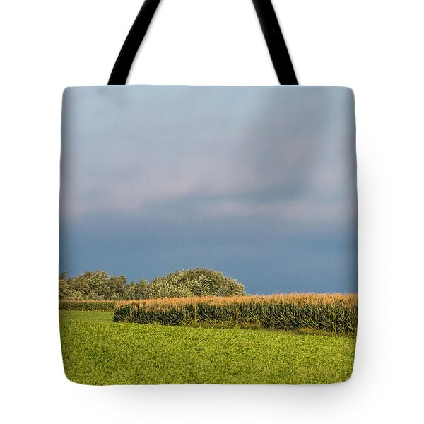 Tote Bag featuring the photograph Farmer's Field by Patti Deters
