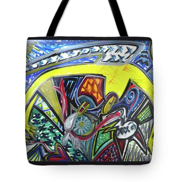 Xxxkull Patterns II Tote Bag