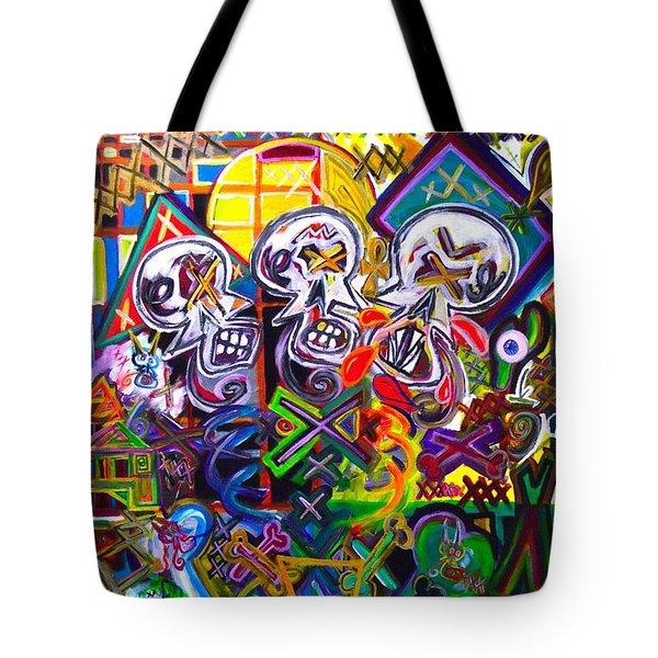 Xxxkull The Xxxiamese Twins  Tote Bag
