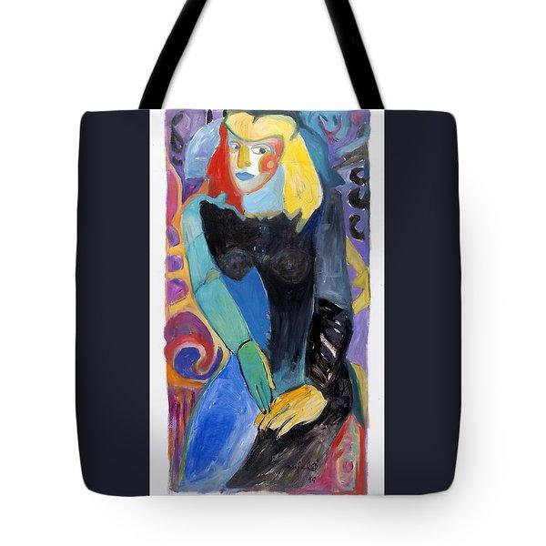 y2kQ Tote Bag