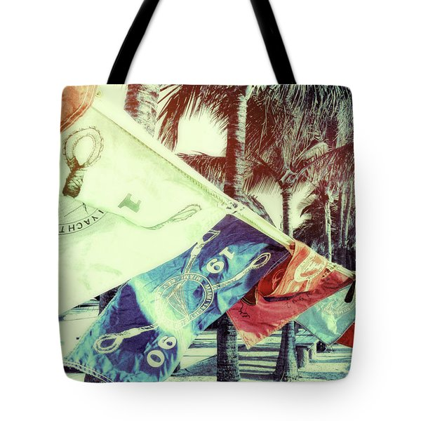 Yacht Club Tote Bag by JAMART Photography