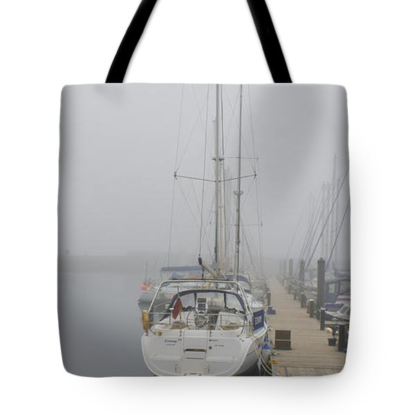 Yacht Doesn't Go In The Fog Tote Bag