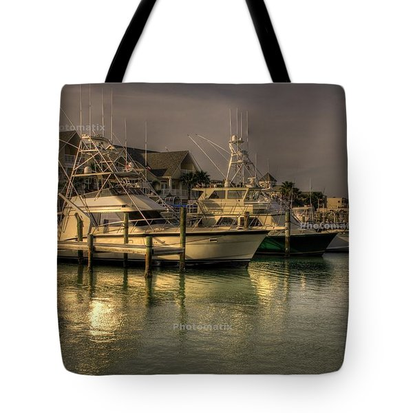 Yachts In Hdr Tote Bag