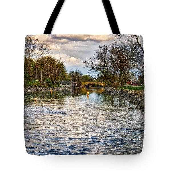 Yahara River, Madison, Wi Tote Bag