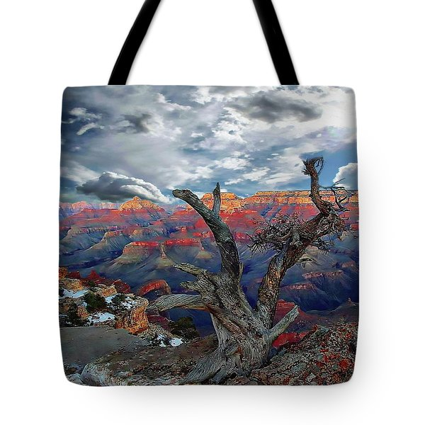 Yaki Point Grand Canyon Tote Bag