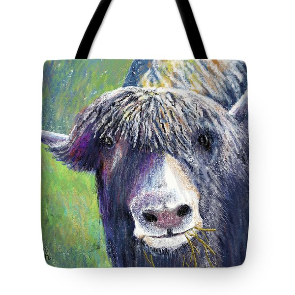 Yakity Yak Tote Bag by Arline Wagner