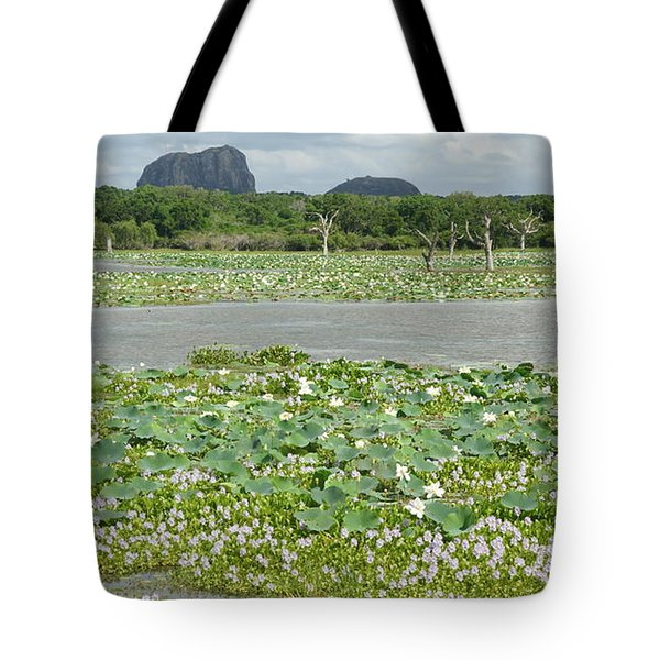 Tote Bag featuring the photograph Yala National Park by Christian Zesewitz