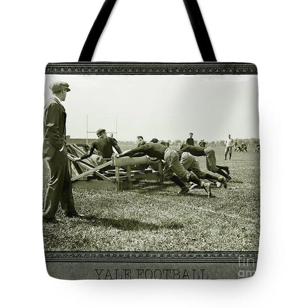 Yale Football Tote Bag