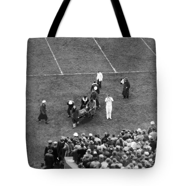 Yale's Albie Booth Injured Tote Bag