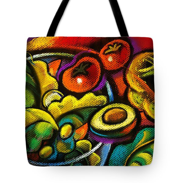 Yammy Salad Tote Bag