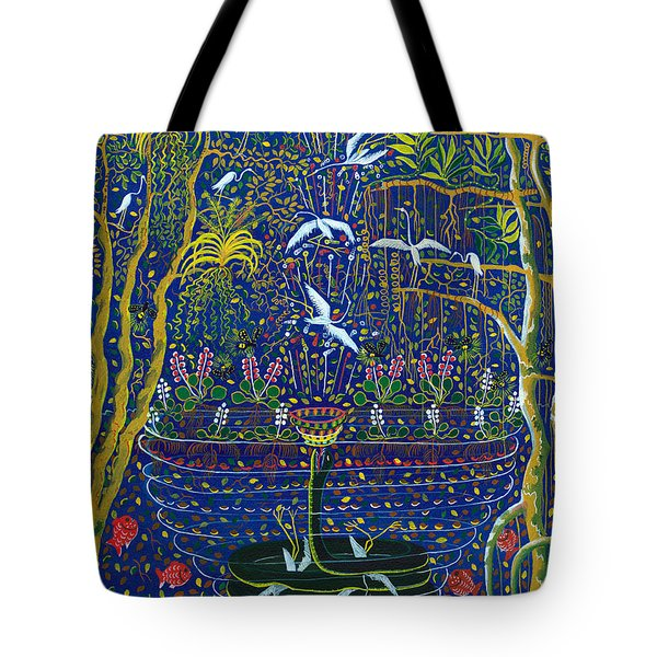 Yana Yacumama  Tote Bag by Pablo Amaringo
